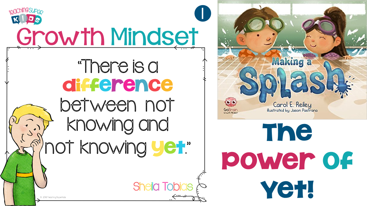 the power of yet The power of yet: 5 easy ways to encourage growth mindset in children carol  encourages us to think about our brains as a muscle, and just.