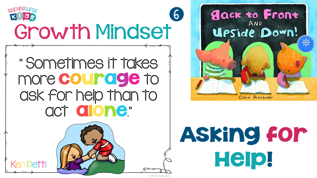 Using a growth mindset to ask for help